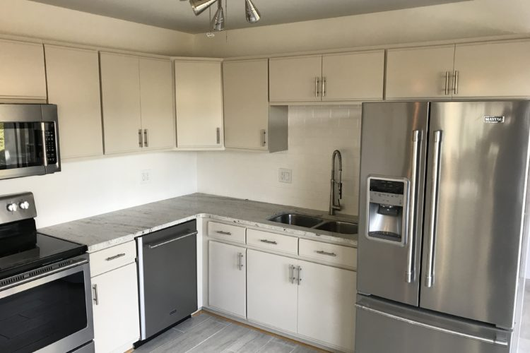 Painted Cabinets to a Custom Color