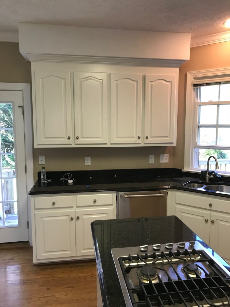 PICKLED MAPLE CABINETS TO A BEAUTIFUL ALABASTER COLOR ...