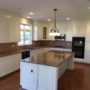 OAK CABINETS TO WHITE DOVE