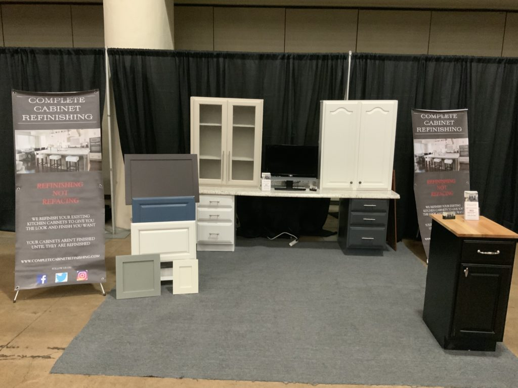 Baltimore Home Show Complete Cabinet Refinishing